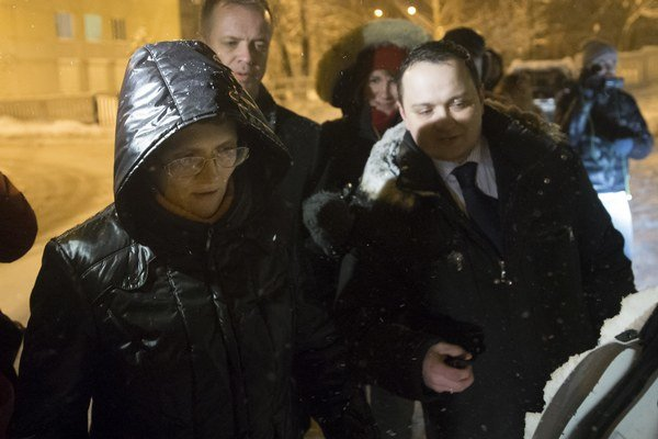 Svetlanu Davydovu prepustili na kauciu.