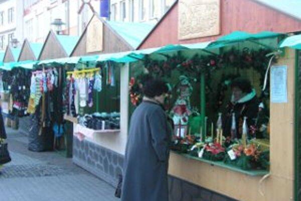 Tieto rovnaké stánky na vianočných trhoch nebudú.
