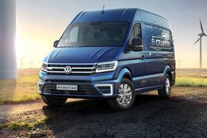 Volkswagen predstavil koncept elektrického Craftera.