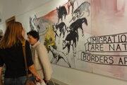 Výstava reaguje na aktuálne problémy Európy.