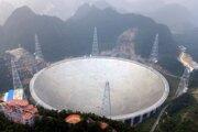 """Teleskop má prezývku """"božie oko""""."""