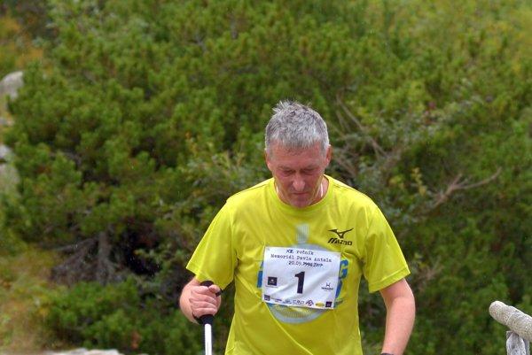 Peter Hritz. Vyznávač Nordic Walkingu.