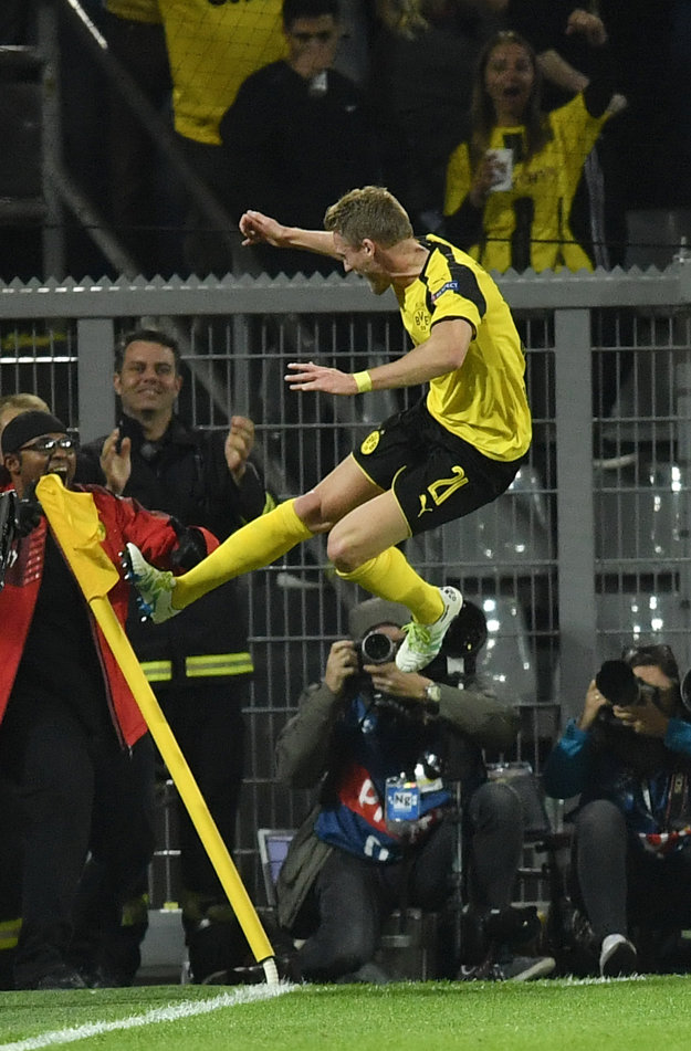 Hrdina domáceho Dortmundu.