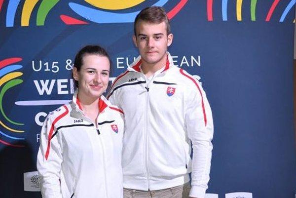 Zľava Eliška Fernezová a Tomáš Romaňák.