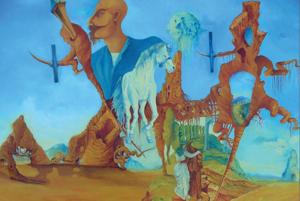 Olejomaľby rómskych výtvarníkov v Zichyho paláci