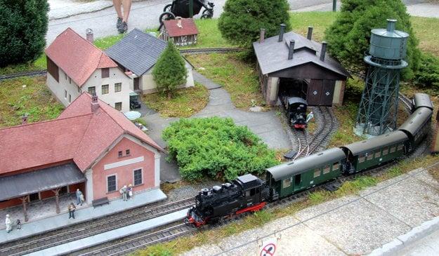 Múzeum železnice Lužná pri Rakovníku.