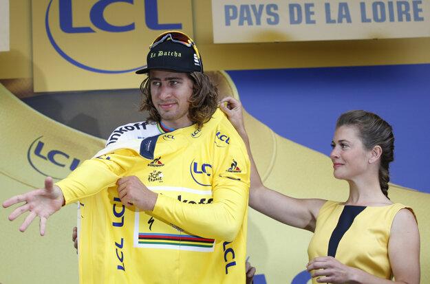 Na tohtoročnej Tour de France sa Peter Sagan premiérovo v kariére obliekol aj do žltého dresu.