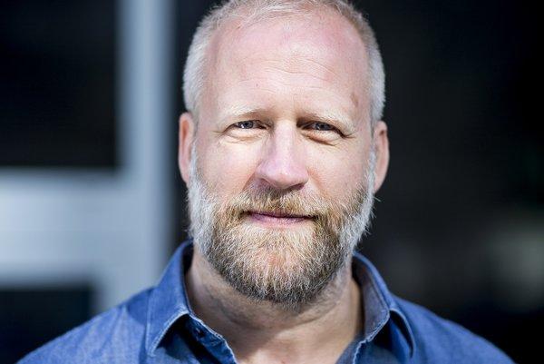 Režisér, scenárista a herec Peter Bebjak.