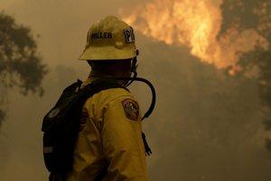Požiare v Kalifornii.
