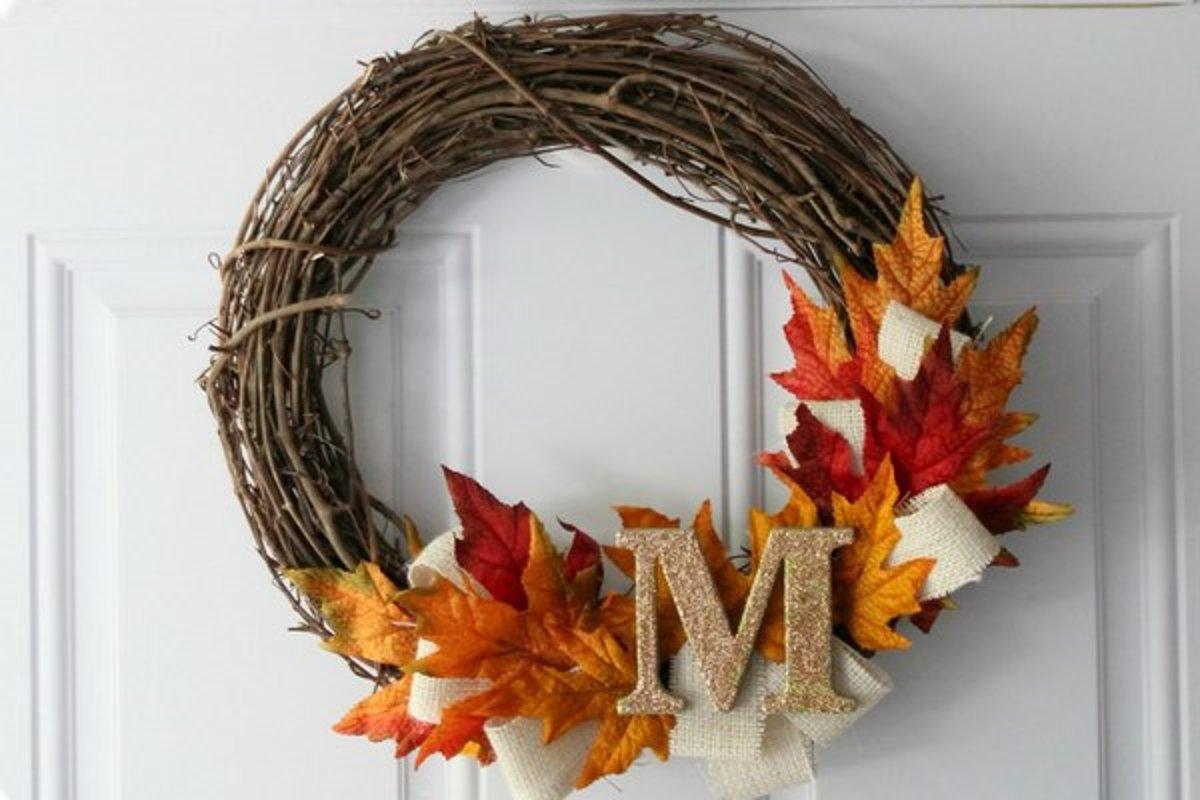 bb744e270 Vyrobte si jesenný veniec na dvere - Žena SME