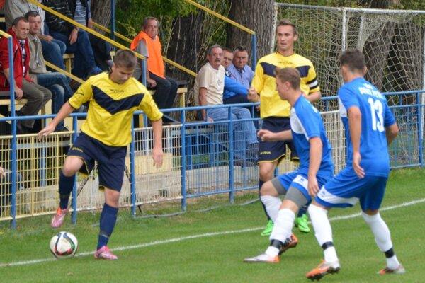 Matúš Balážik (vľavo) strelil v zápase dva góly.