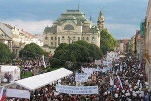 Po prvom vlaňajšom pochode v Košiciach bude druhý v Bratislave. Uskutoční sa 20. septembra 2015.