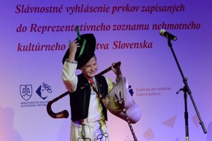 Gajdy sú samostatnou slovenskou nomináciou, bábkarstvo nominuje SR spoločne s Českou republikou.