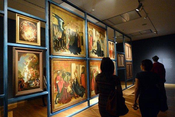 Internetová stránka www.webumenia.sk umožňuje vyhľadávanie viac ako 24 000 diel zo zbierok slovenských galérií.