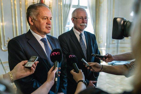 Pavol Šajgalík sa stretol s prezidentom Andrejom Kiskom.