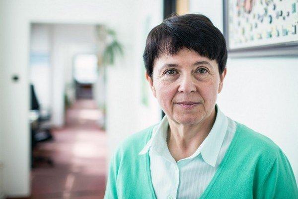 Viera Kalmárová.
