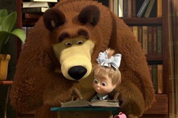 Ruská rozprávka Máša a medveď už na obrazovke RTVS skončila.