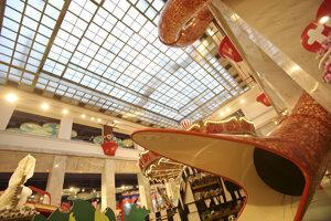 Hračkárstvo Hamleys v Prahe pred otvorením