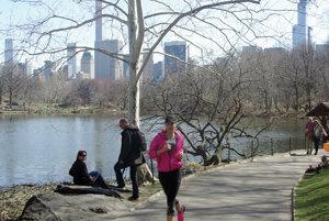 Veronika Turayová pri obľúbenom behu v central parku