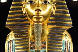 Kópia zlatej maska Tutanchamóna