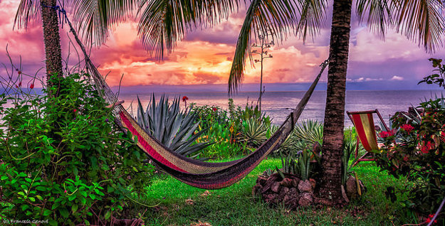 Odpočinok v Kostarike.