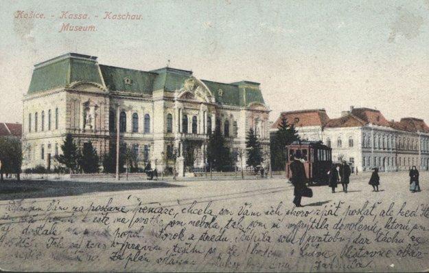 Budova košického múzea.