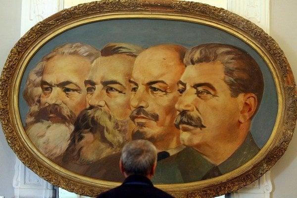 Marx, Engels, Lenin aj Stalin, pre mnohých pramene poznania.