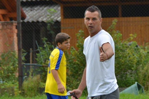 Tréner Radoslav Servila.