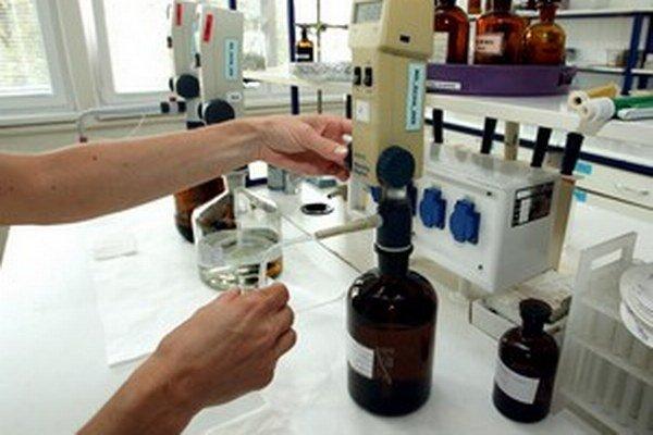 Laboratórium v Banskej Bystrici.