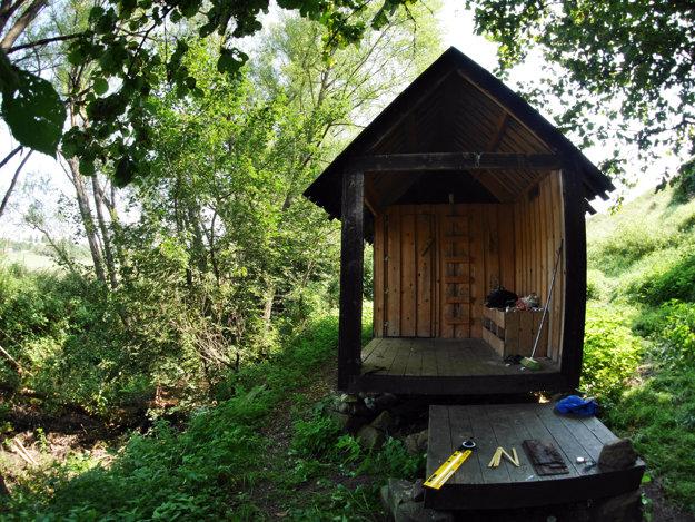 Unikátna sauna v krajine.