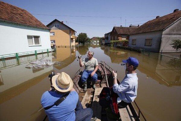 Májové povodne spôsobili obrovské škody.