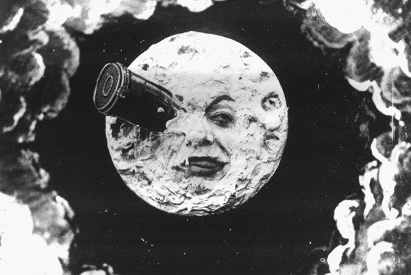 Cesta na Mesiac, jeden z prvých sci-fi filmov.