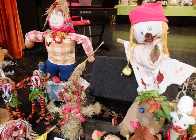 Strašiaky, ktoré vyrobili školáci.