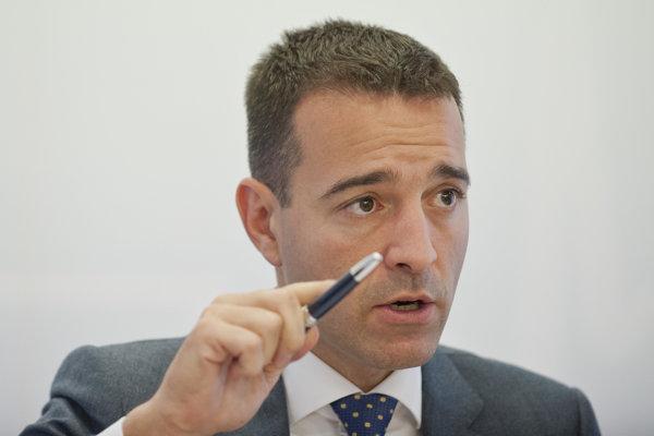 Minister zdravotníctva Tomáš Drucker.