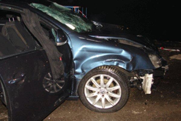 V tomto aute prišli o život dvaja mladí ľudia.
