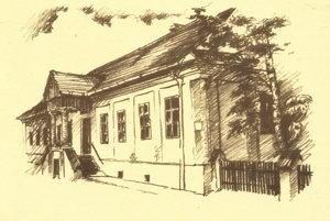 Bývala kúria, dnes Galéria Márie Medveckej.