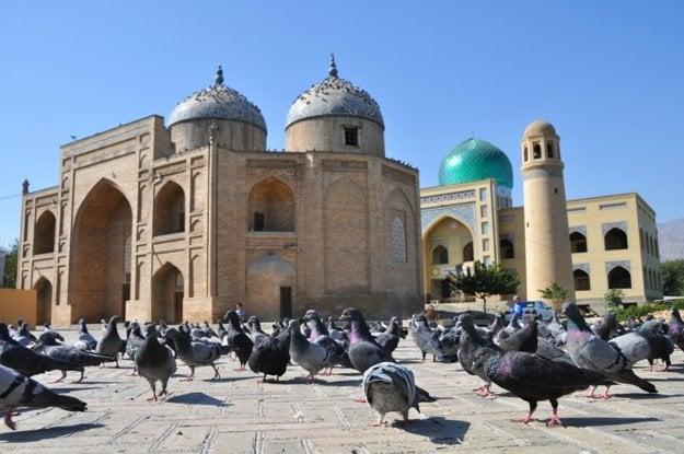 Mauzóleum šejka Masal ad-Dina je ikonou mesta Chudžand.