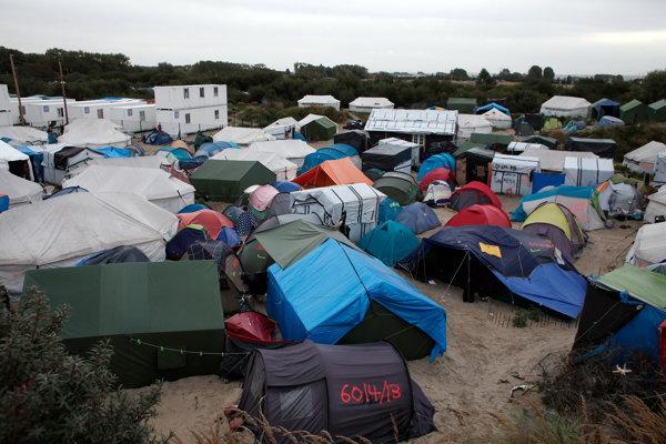 Stany v tábore zvanom Džungľa, Calais.
