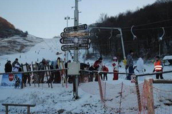 Lyžiarske stredisko v Chlmci je už minulosťou.