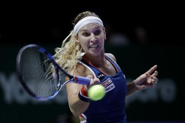 Dominika Cibulková podala výborný výkon.