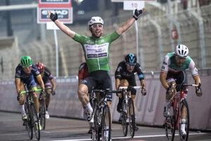 Záver v Abú Zabí ovládol Mark Cavendish.
