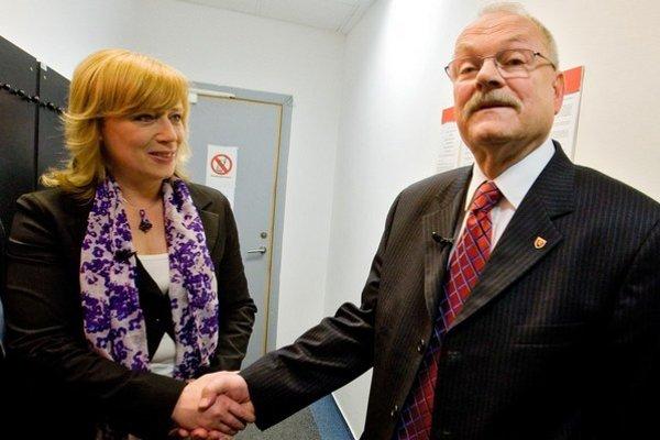 Predchádzajúci súboj: Iveta Radičová a Ivan Gašparovič.