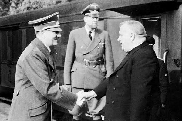 Hitler a Tiso.
