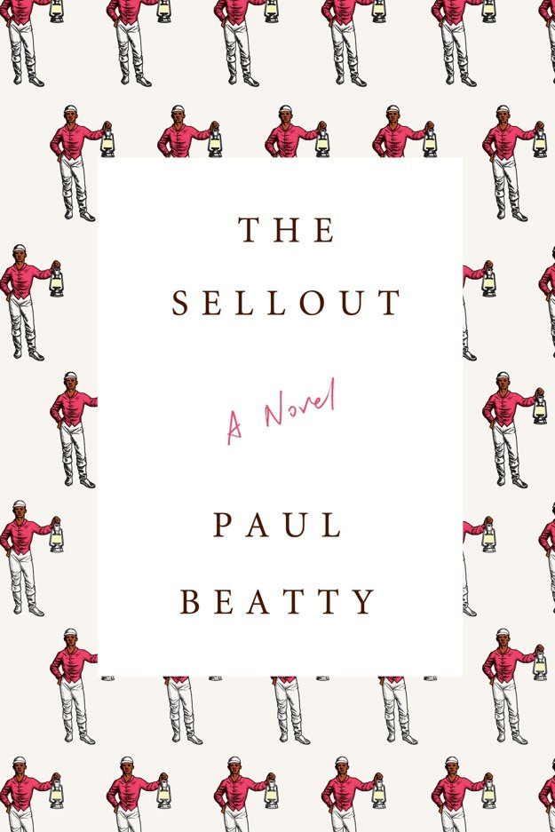 Obal najlepšej knihy The Sellout.