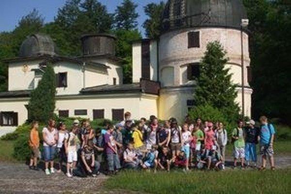Hvezdáreň v Hurbanove býva často miestom školských exkurzií.
