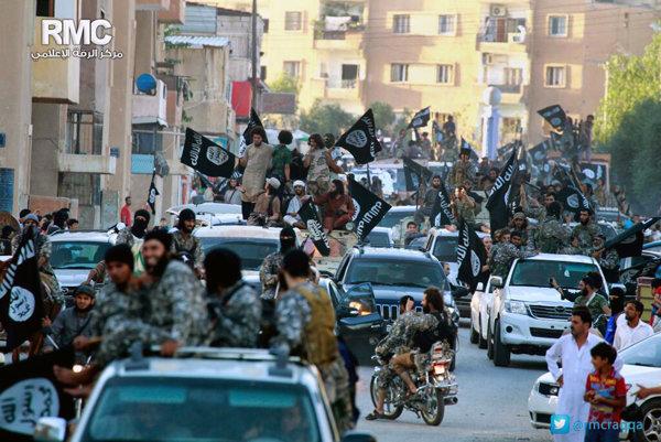 Rakka je hlavným centrom Islamského štátu v Sýrii.