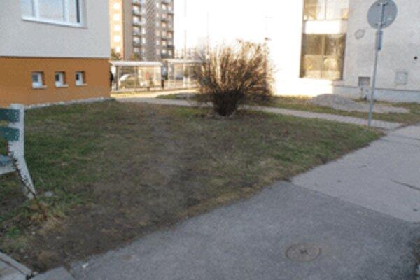 Niekomu nevadí, že sa pri prechode cez trávnik zablatí.