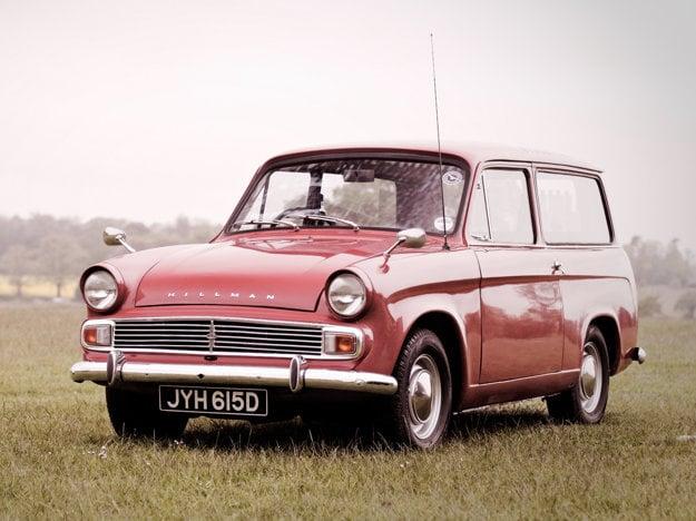 Kombíky modelu Hillman Minx sa ponúkali pod označením Husky