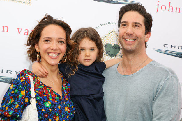 S dcérou a manželkou