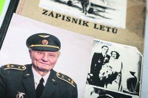Ľudovít Šramko si viedol aj podrobný Letecký zápisník.
